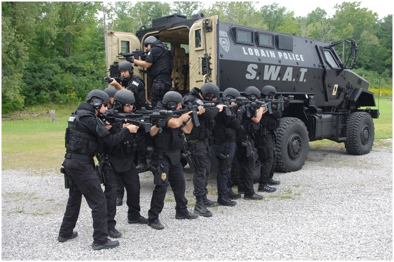 lpd swat featured in tactical response magazine lorain